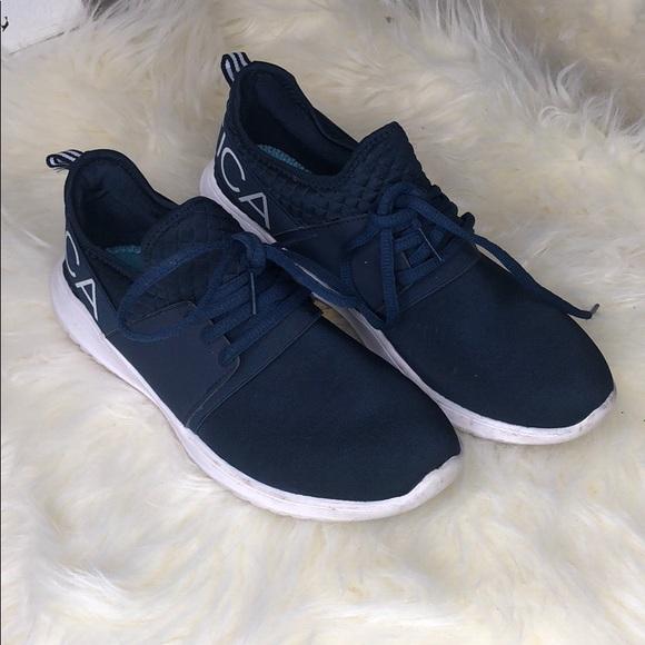 4809cd4fd5292a ... nautica shoes navy blue tennis poshmark ...